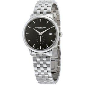 Raymond Weil 5484-ST-20001 Men's Toccata Black Quartz Watch