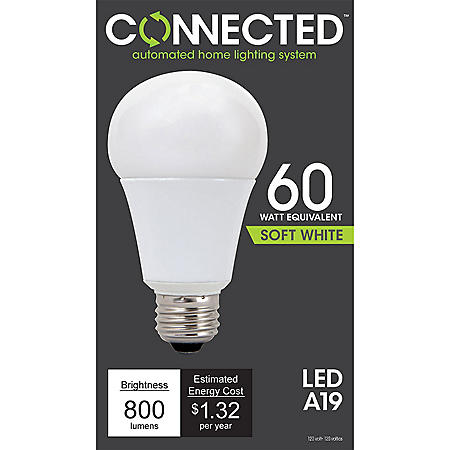 11 Watt Soft White LED A Lamp for Connected Lighting
