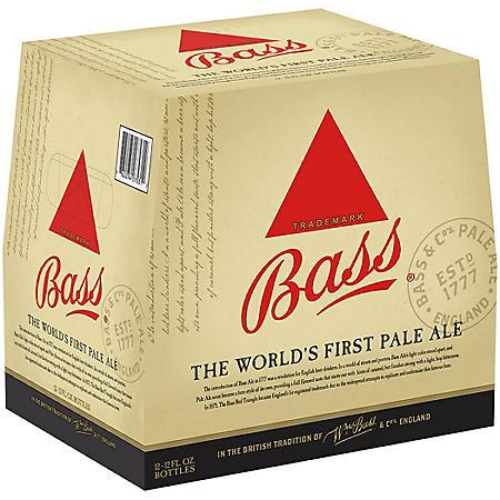 Bass Pale Ale (12 fl. oz. bottle, 12 pk.)