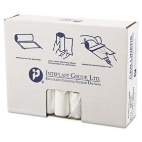 Coreless Interleaved Rolls 33 gal. Trash Bags (250 ct.)