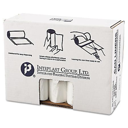 Coreless Interleaved Rolls 60 Gal. Trash Bags (150 ct.)