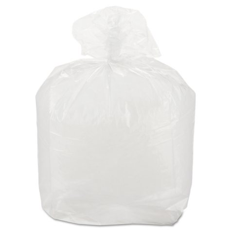 """Poly Food Bags, 5"""" x 4.5"""" x 15"""" (1,000 ct.)"""