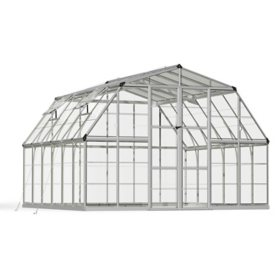 Palram Americana 12' x 12' Greenhouse-Silver