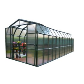 Grand Gardener 2 Twin Wall 8' x 20' Greenhouse