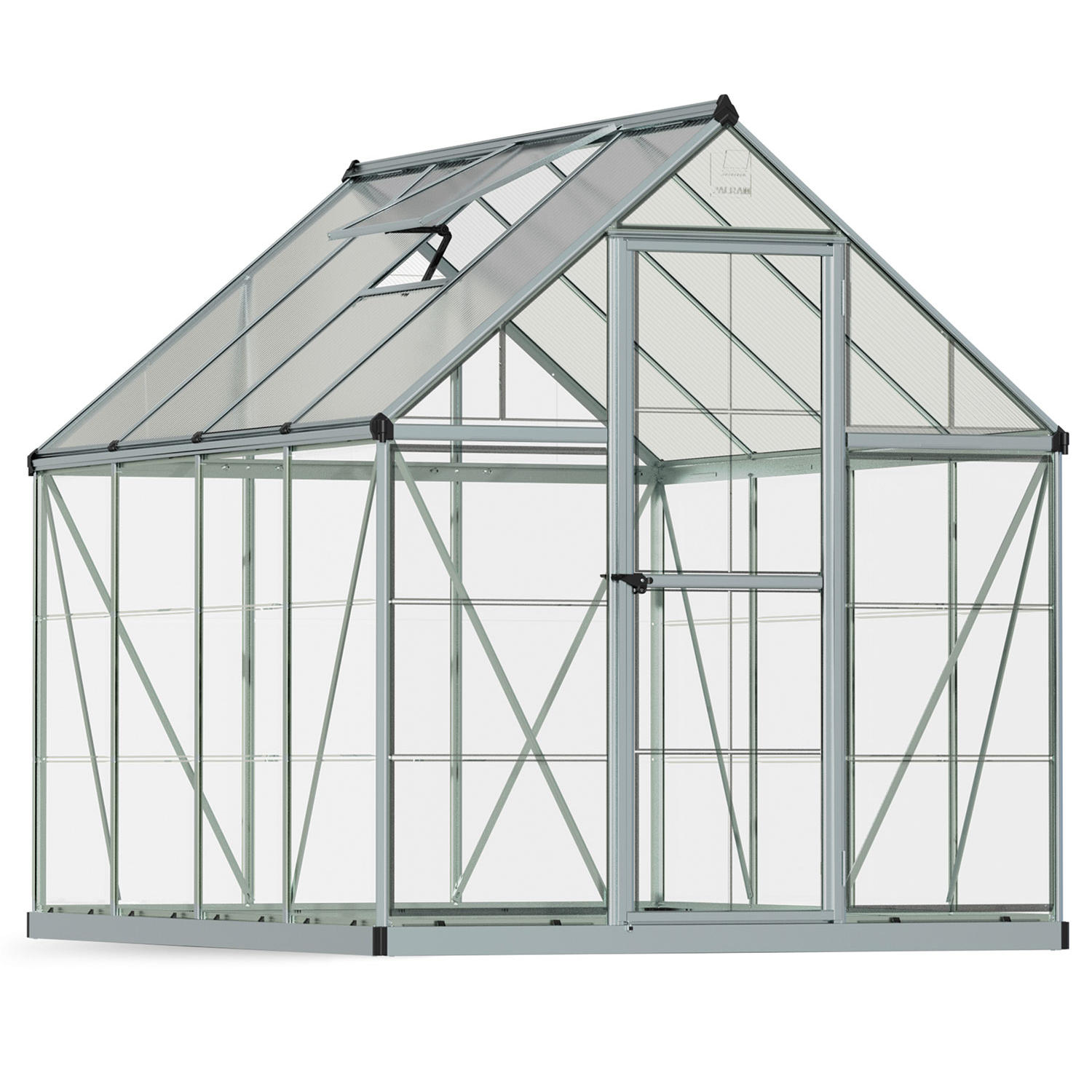 Palram Nature Hybrid 6' x 8' Greenhouse