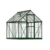 Palram | Canopia Hybrid 6' x 8' Greenhouse - Green