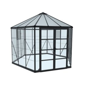 Palram Oasis Hex 12' Greenhouse - Gray