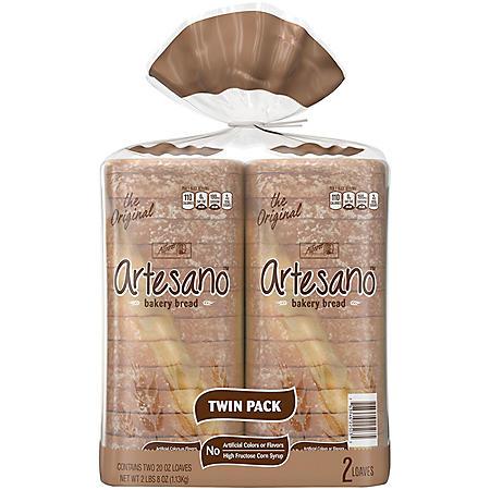 Alfaro's Original Artesano Bakery Bread (20oz / 2pk)