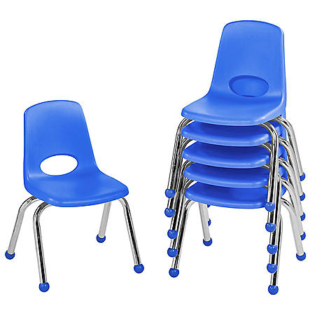 "12"" Stack Chair Ball Glide, 6-Pack (Assorted Colors)"