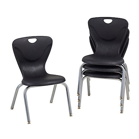 """16"""" Contour Chair Swivel Glide, 4-Pack (Assorted Colors)"""