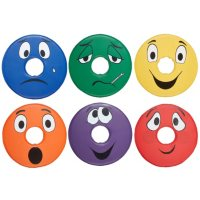 SoftScape Expression Cushions Donut Set 2, 6-Piece - Assorted