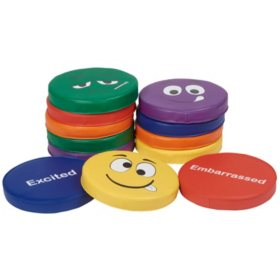 SoftScape Expression Cushions Round, 12-Piece - Assorted