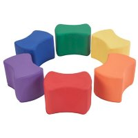 SoftScape Butterfly Seating Set, 6-Piece - Assorted