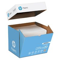 HP Office Paper, 20lb, 92 Bright, 8 1/2 x 11, Ultra-White, 2500 Sheets