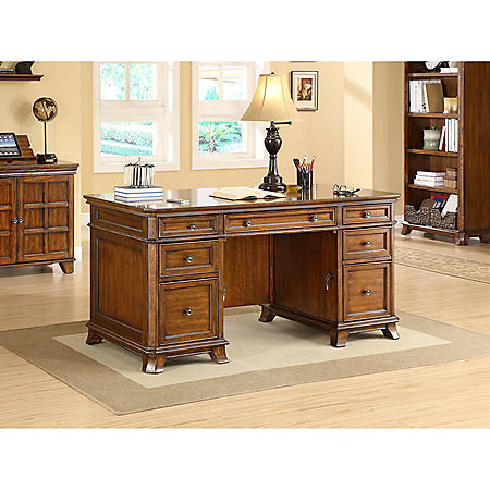 Whalen Furniture Belhaven Executive Desk Sam S Club