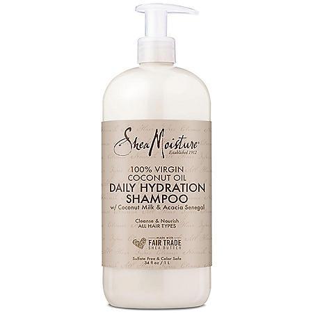 Shea Moisture Virgin Coconut Oil Shampoo (34 oz.)