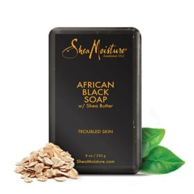 Shea Moisture African Black Soap With Shea Butter (8 oz., 4 pk.)