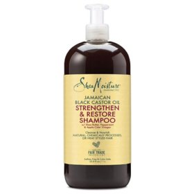 Shea Moisture Jamaican Black Castor Oil Strengthen & Restore Shampoo (33.8 fl. oz.)