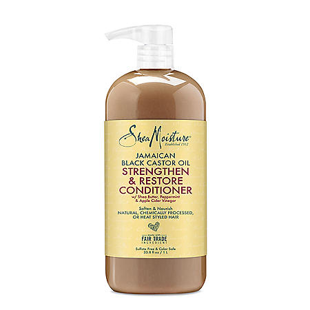 Shea Moisture Jamaican Black Castor Oil Strengthen & Restore Conditioner (33.8 fl. oz.)