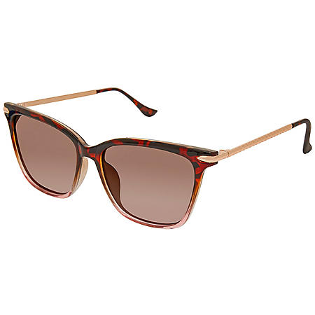 Free Country Women's Polarized Fashion Sunglasses
