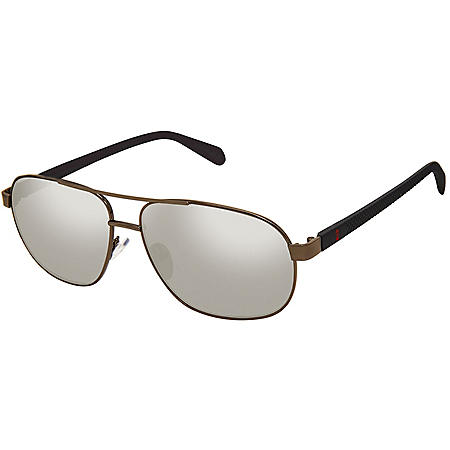 Free Country Men's Polarized Navigator Sunglasses