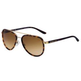 Michael Kors Sunglasses Playa Norte, Tortoise Gold/Warm Brown