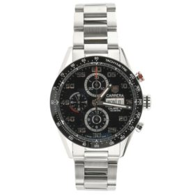 25c040f46402 Carrera Automatic Chronograph Men s Watch by Tag Heuer