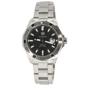 96baafa5d Bulova Men's 98B127 Marine Star Black Dial Strap Watch - Sam's Club