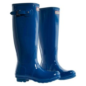 Hunter Women's Tall Glossy Rain Boots