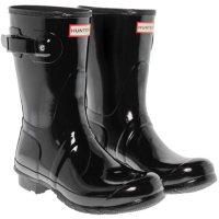 Hunter Women's Short Glossy Rain Boots