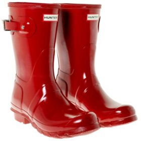 Womens Short Hunter Rain Boots (Various Colors)