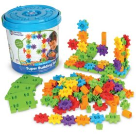 150PC Gears Tub Super Building Set