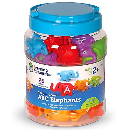 Snap-n-Learn ABC Elephants