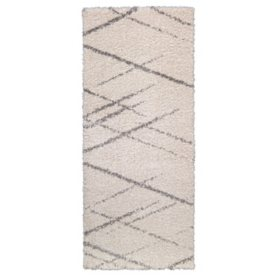 Thayer Shag Rug in Corfu Ivory, Assorted Sizes