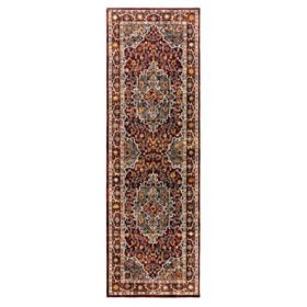 Brea Area Rug in Byrne Red, Assorted Sizes