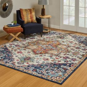 Scanda Area Rug - 8' x 10', Tyrella Multi