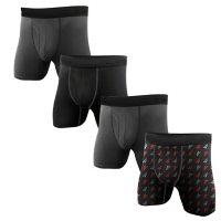 Reebok Men's 4-Pack Performance Boxer Brief