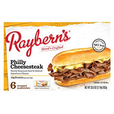 Raybern's Philly Cheesesteak (5.6 oz., 6 ct.)