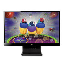 "Viewsonic VX2270SMH-LED 22"" Frameless Widescreen Monitor, Black"