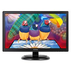 "ViewSonic's VA2465SMH,  23.6"" Wide LCD  1920 x1080  VGA  HDMI  Speaker  VA65-ID,  Black"
