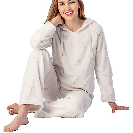 Blush Women's Plush PJ Set