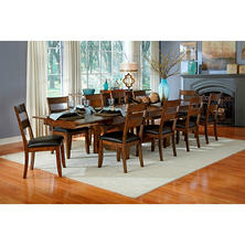 Emma Solid Wood Dining Table and Chairs Set (Assorted Sizes)