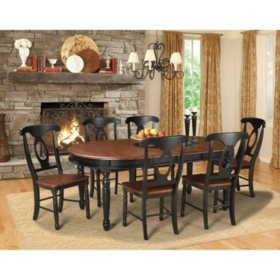 Jacob Solid Wood Dining Set (Assorted Sizes)