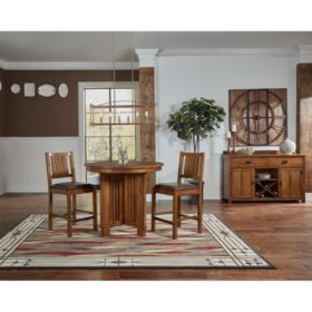 Juliana 3 Piece Counter Height Dining Set