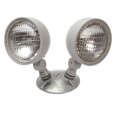 NICOR Dual Emergency Remote Lamp Head Fixture