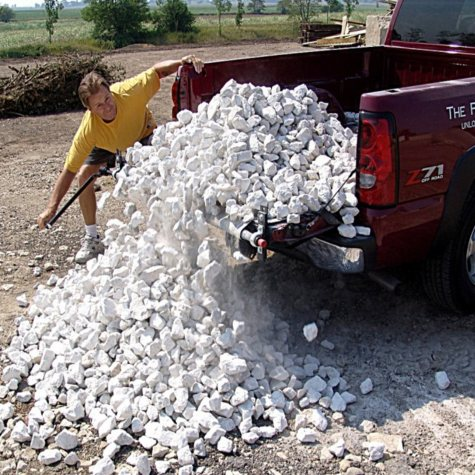 Loadhandler Commercial Heavy-Duty Pickup Truck Unloader - Full-Size - 3,000 lbs. capacity