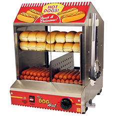 Paragon 8020 Dog Hut Hot Dog Steamer