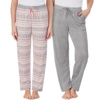 Cuddl Duds Ladies 2 Pack Sleep Pant