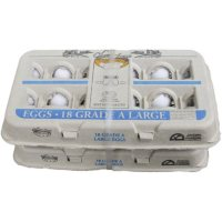 Cherry Lane Grade A Large Eggs (18 ct. carton, 2 pk.)