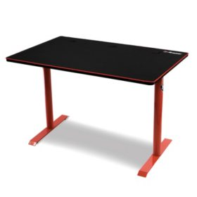 Arozzi Arena Leggero Compact Gaming Desk - Red